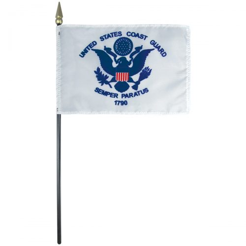 Coast Guard Mounted Flag