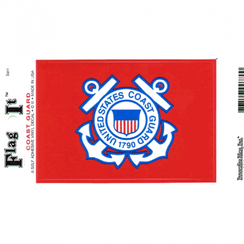 Coast Guard Seal Sticker