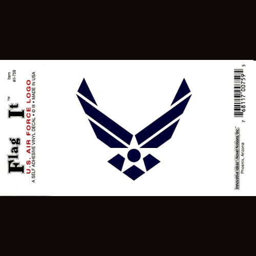 Air Force Logo Sticker