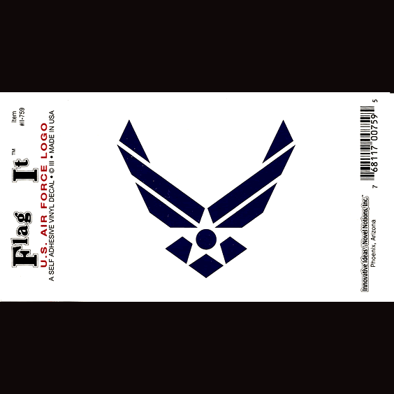 Air Force Logo Sticker Made In The Usa Flags International