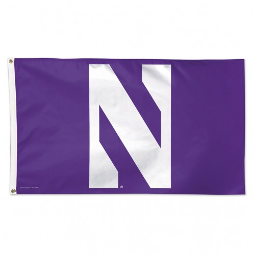 Northwestern Deluxe Flag