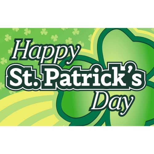 St. Patrick's Day Flag 3'x5' Limited