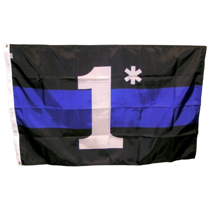 One Asterisk Flag