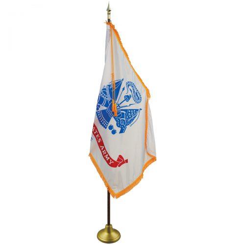 Army Ceremonial Flag Set