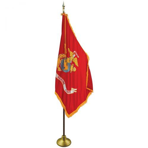 Marine Corps Ceremonial Flag Set