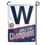 Chicago Cubs World Series Champion W Garden Flag