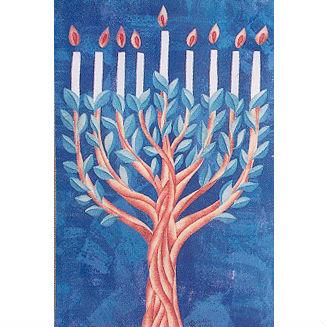 Hanukkah Tree Banner