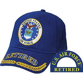 Air Force Retired Embroidered Hat