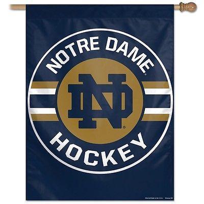 Notre Dame ND Hockey Banner