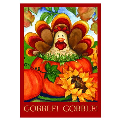 Autumn Turkey Garden Flag
