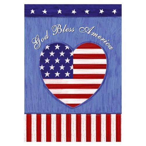 God Bless the US Garden Flag