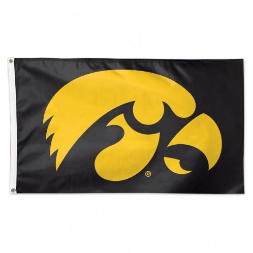 Iowa Hawkeye Deluxe Flag