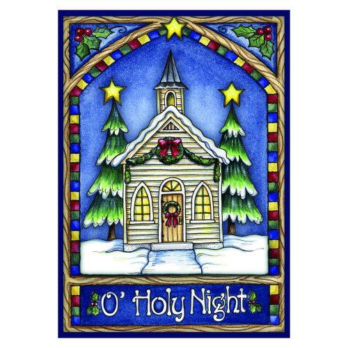 O Holy Night Christmas Garden Flag