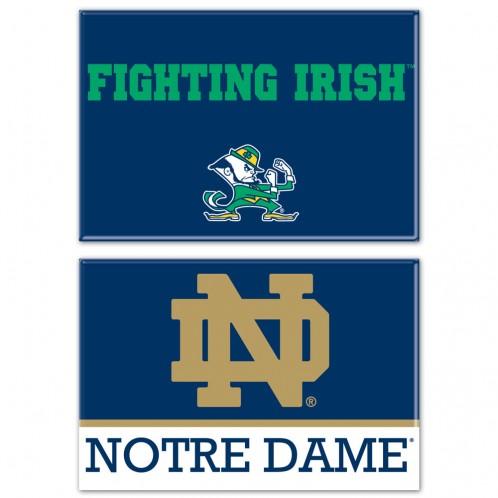 Notre Dame 2 Magnet Pack