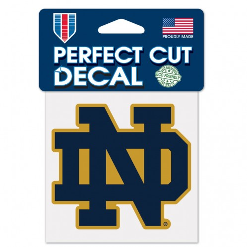 Notre Dame ND Logo Decal