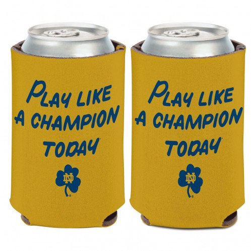 Notre Dame Play Like A Champion Can Cooler