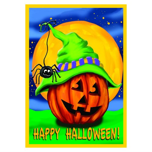 Halloween Holiday Garden Flag