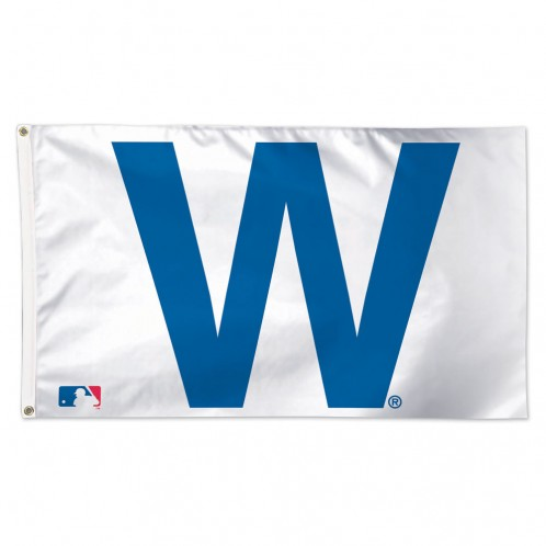 Chicago Cubs Deluxe W Flag