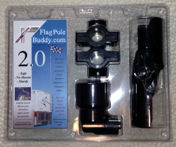 "2"" RV Flagpole Mounting Kit"