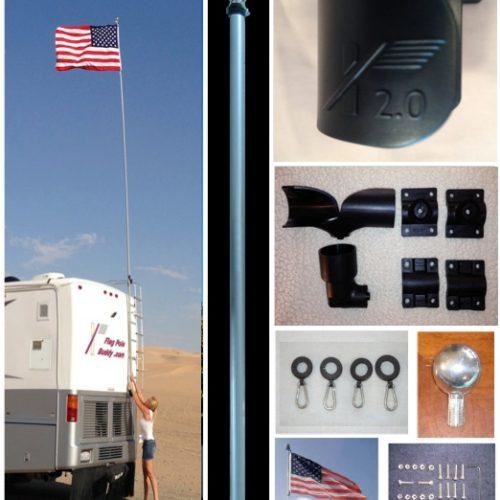22' RV Tailgating Flagpole Kit