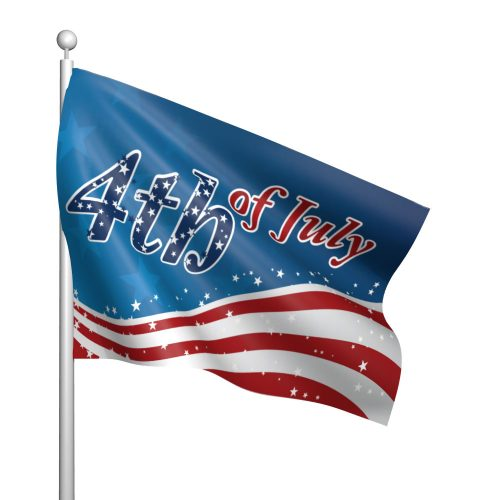 4th of July Stars and Stripes Flag