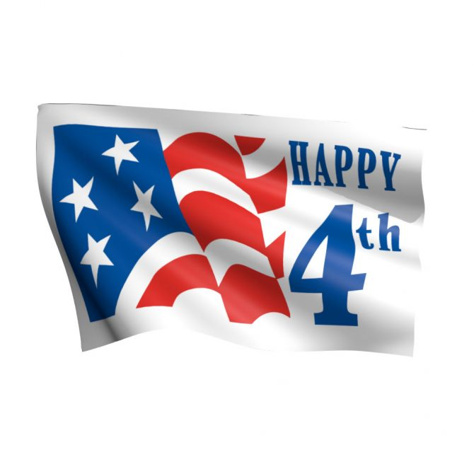 Happy 4th of July Flag