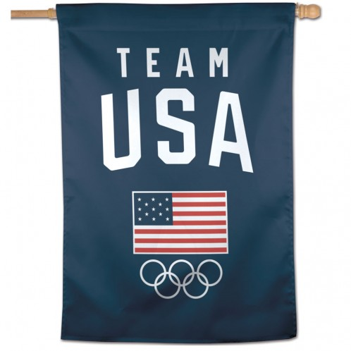 Team USA Olympic Vertical Flag