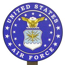 Air Force Yard Stake