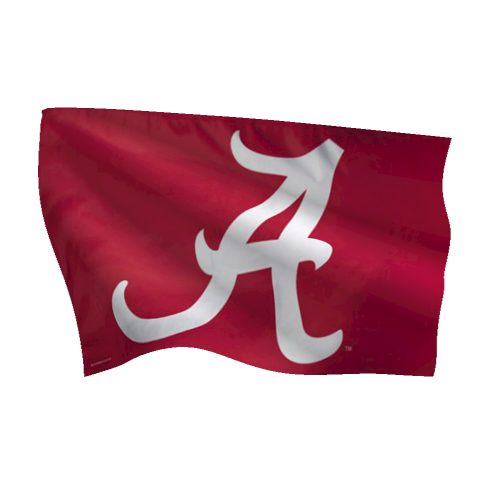University of Alabama Deluxe Flag