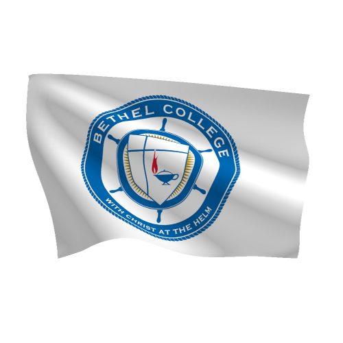 Bethel College Nylon Flags