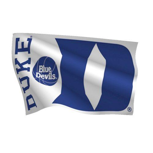 Duke Basketball Blue Devils Flag