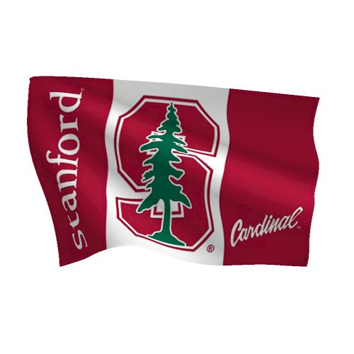 Stanford University Cardinals Flag