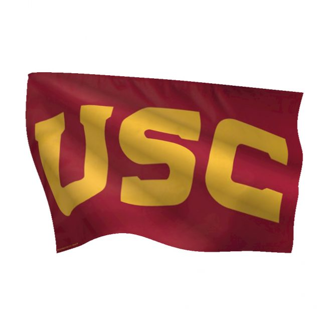 University of Southern California Deluxe Flag