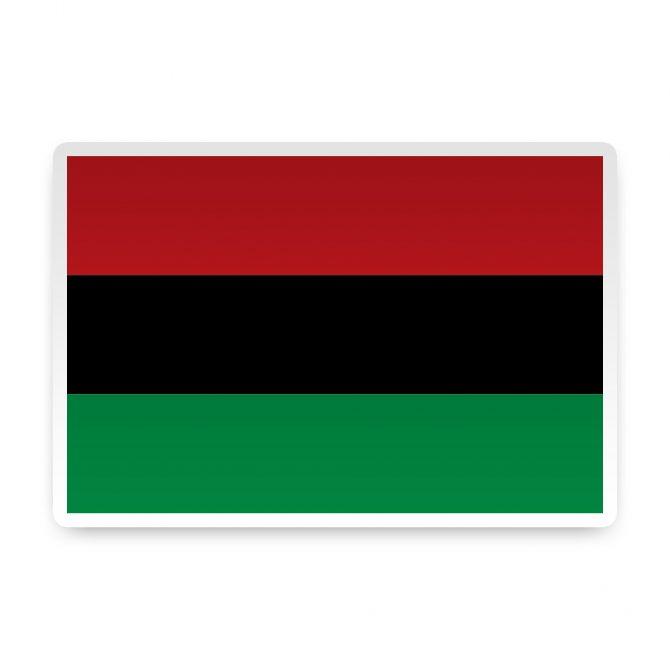 African-American Sticker