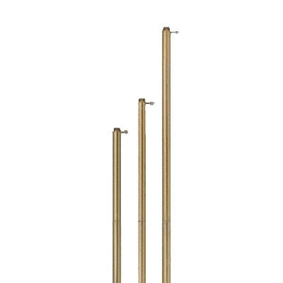 Gold Adjustable Aluminum Pole