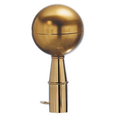 Aluminum Gold Ball Finial