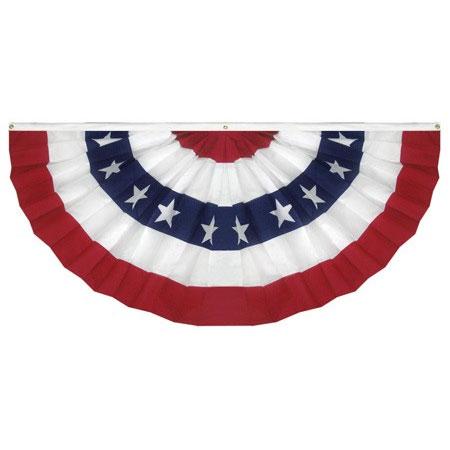 American Full Pleated Fan