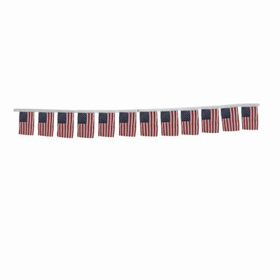 12ft of American Flag Garland