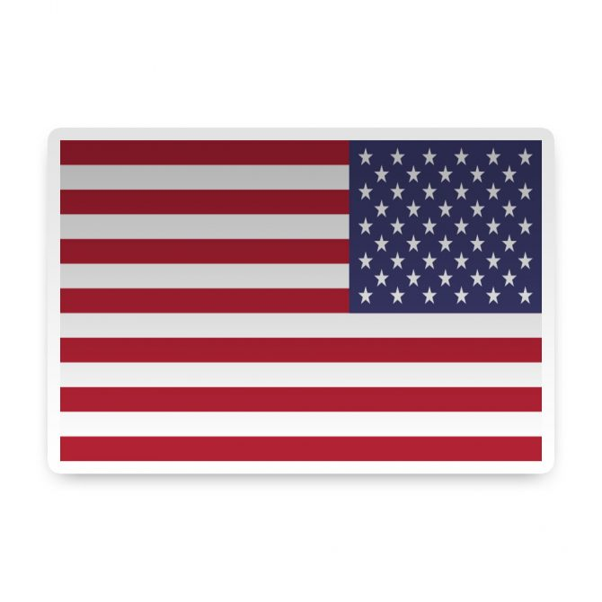 Right Hand American Flag Sticker