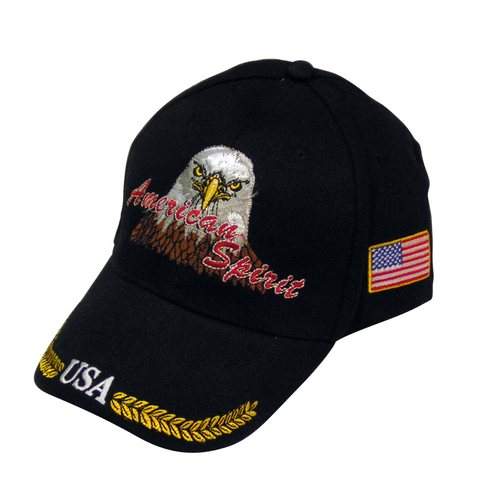 29df24ad442 American Spirit Embroidered USA Hat