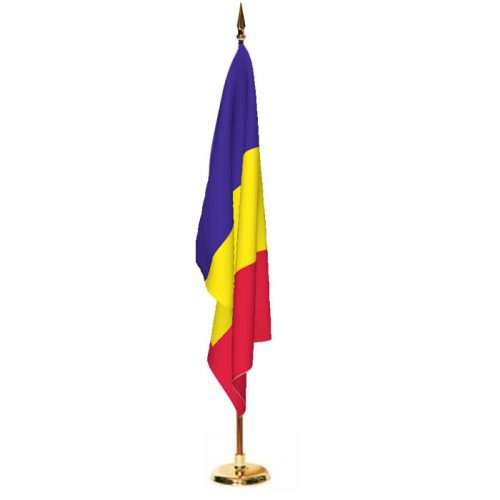 Indoor Andorra Ceremonial Flag Set