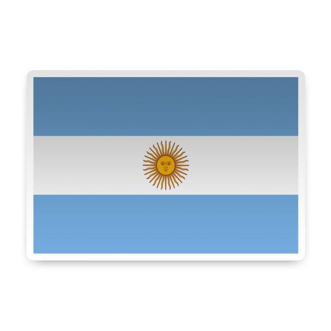 Argentina Sticker