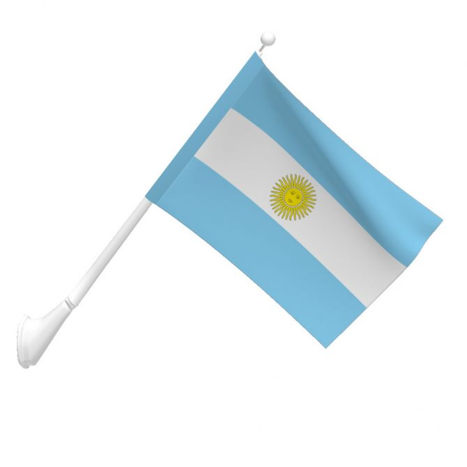 Argentina with Seal Flag