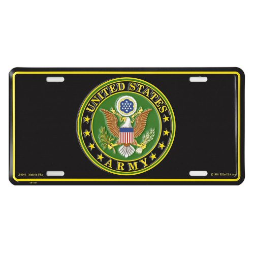 Army Seal License Plate