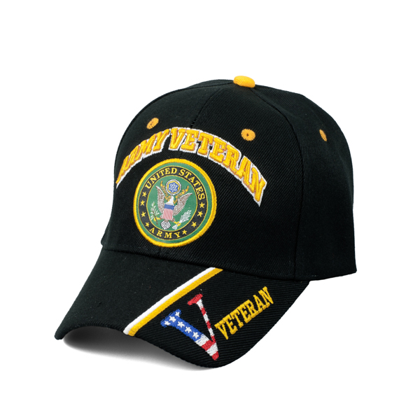 925118d9acc Embroidered Army Veteran Hat