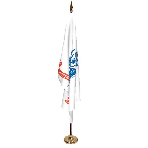 Indoor Army Ceremonial Flag Set