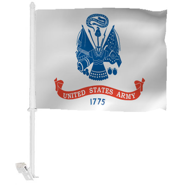 Army Car Window Flag