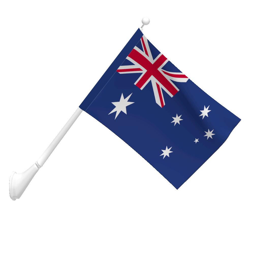 polyester australia flag light duty flags international