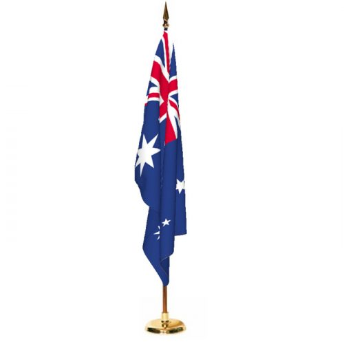 Indoor Australia Ceremonial Flag Set