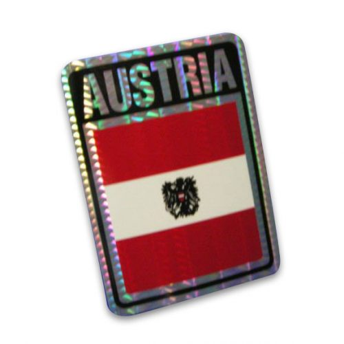 Vinyl Metallic Austria Decal